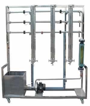 流体流动阻力检测实验装置