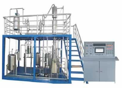 双塔精馏实验装置
