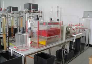 中小城镇饮用水处理实验装置