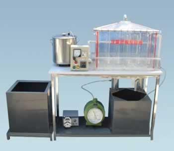 厌氧折流板反应实验装置