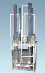 活性炭吸附法净化实验装置