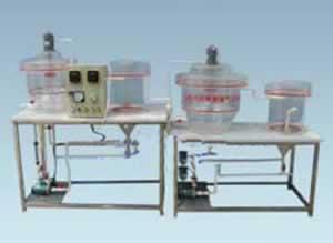 混合式曝气式污水实验装置