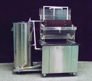 气动淹没式生物转盘实验装置