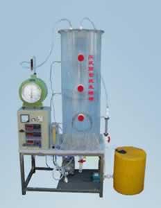 固体垃圾渗漏液反应实验装置