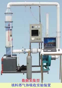 数据采集填料塔气体吸收实验装置