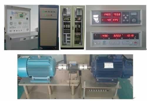 双馈风力发电机模拟系统实验装置